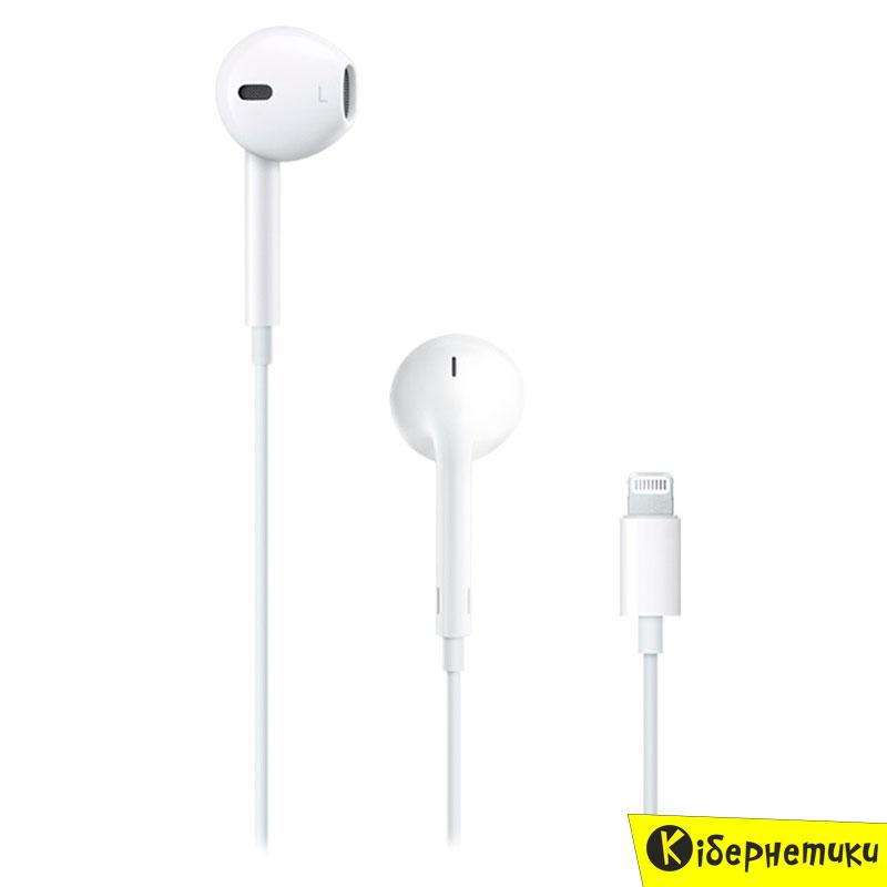 Купить Наушники+ДУ Apple iPod EarPods with Mic Lightning (MMTN2ZM A ... 4ca2fc749e9c1