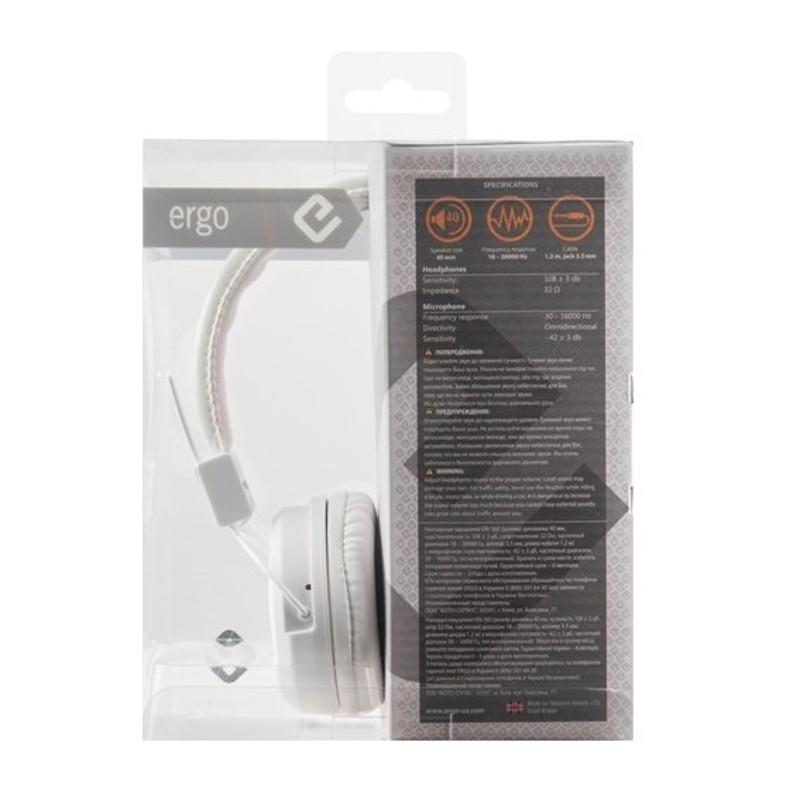 Наушники ERGO VM-360 Marshmallow - в интернет магазине Кибернетики d235cb44029