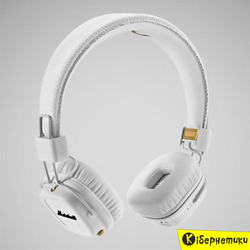 наушники Marshall Major Ii Bluetooth White 4091377 в интернет